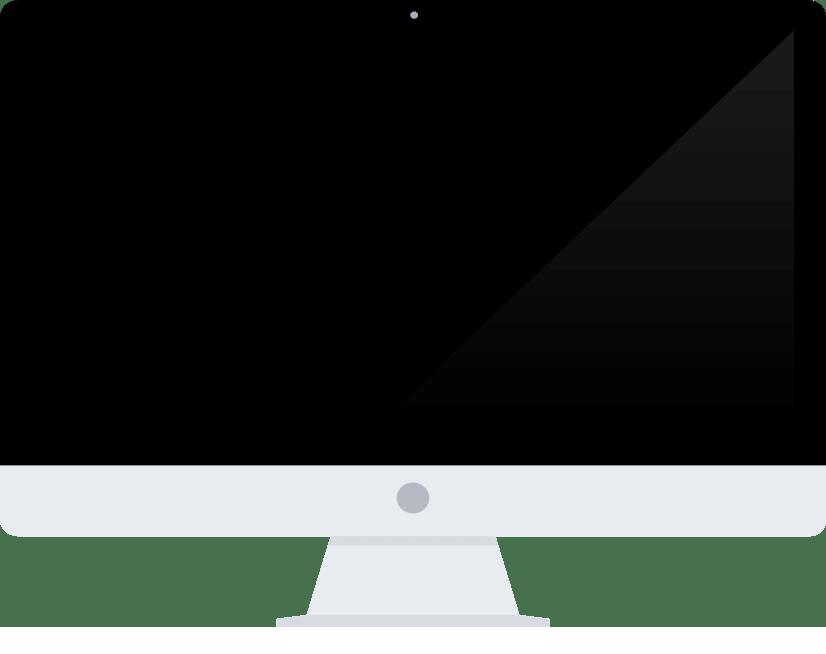 iMac computer Transparent